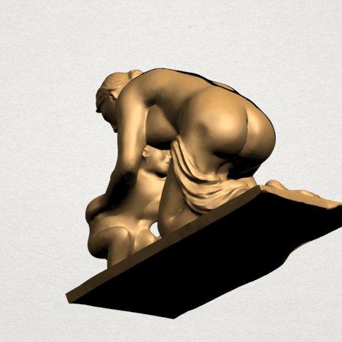 Mother-Child (iv) A08.png Download free STL file Mother and Child 04 • 3D print template, GeorgesNikkei