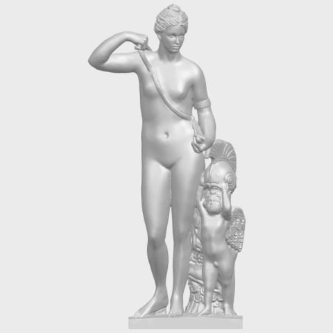 16_TDA0268_Venus_and_AngelA01.png Télécharger fichier STL gratuit Vénus et Ange • Objet pour impression 3D, GeorgesNikkei