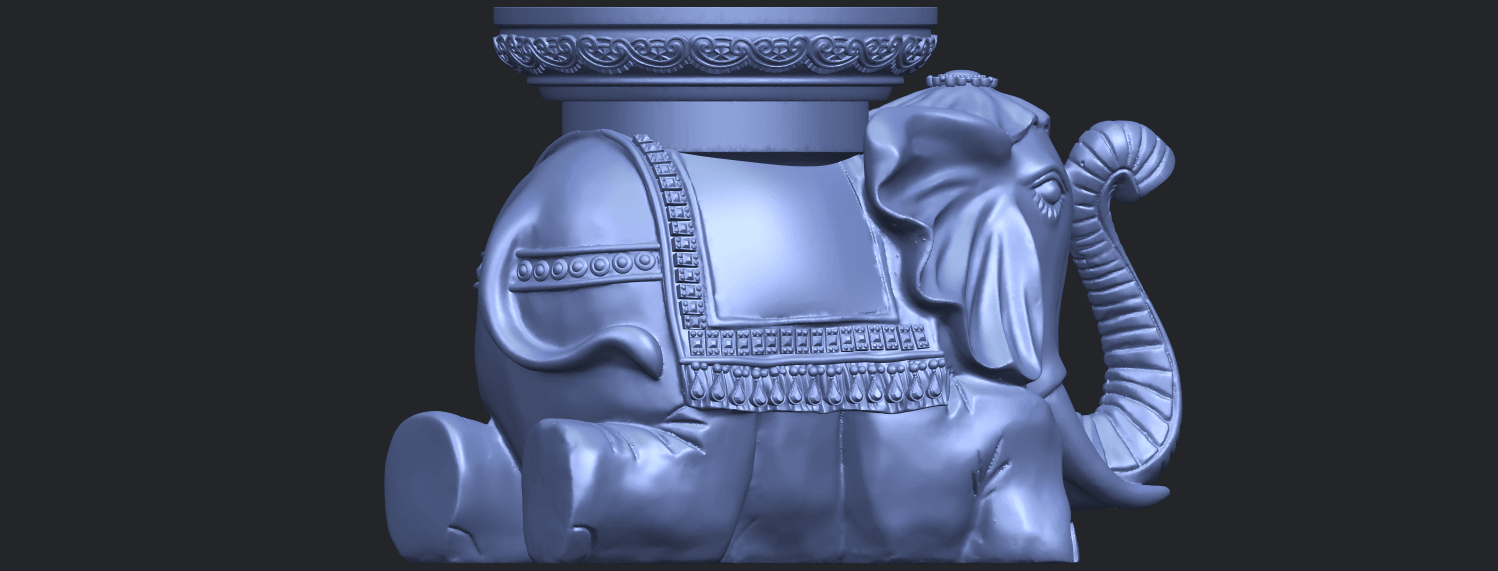 11_TDA0501_Elephant_TableB07.png Download free STL file Elephant Table • 3D printing object, GeorgesNikkei