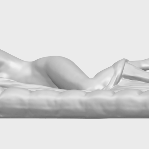 01_Naked_Body_Lying_on_Bed_ii_31mmA07.png Download free STL file Naked Girl - Lying on Bed 02 • Object to 3D print, GeorgesNikkei