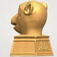 Free stl files Chinese Horoscope of Monkey 02, GeorgesNikkei