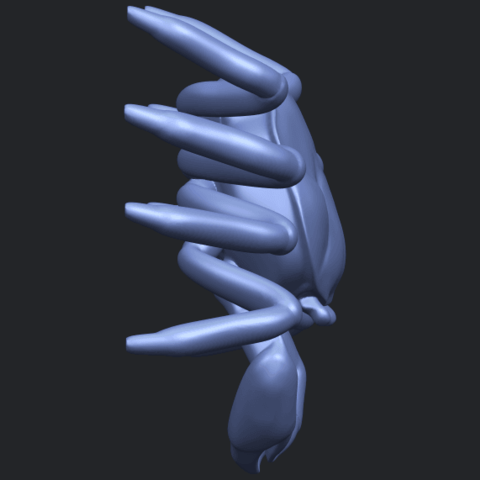 21_TDA0612_CrabB09.png Télécharger fichier STL gratuit Crabe • Objet pour imprimante 3D, GeorgesNikkei