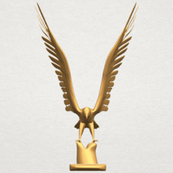 Free STL Eagle 03, GeorgesNikkei