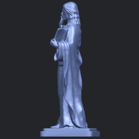 19_TDA0237_Jesus_vB04.png Download free STL file Jesus 05 • 3D print object, GeorgesNikkei