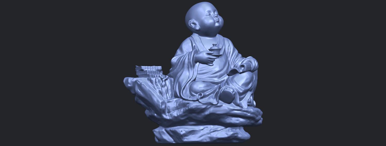 17_TDA0558_Little_Monk_Drink_TeaB01.png Télécharger fichier STL gratuit Boire du thé Little Monk Drink Tea • Design à imprimer en 3D, GeorgesNikkei