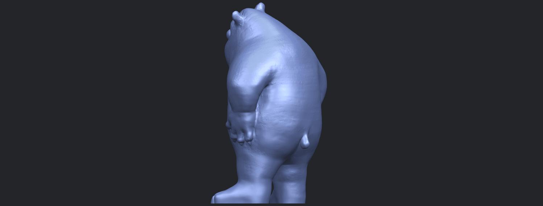 14_TDA0561_Bear_SeniorB05.png Télécharger fichier STL gratuit Bear Senior • Plan imprimable en 3D, GeorgesNikkei