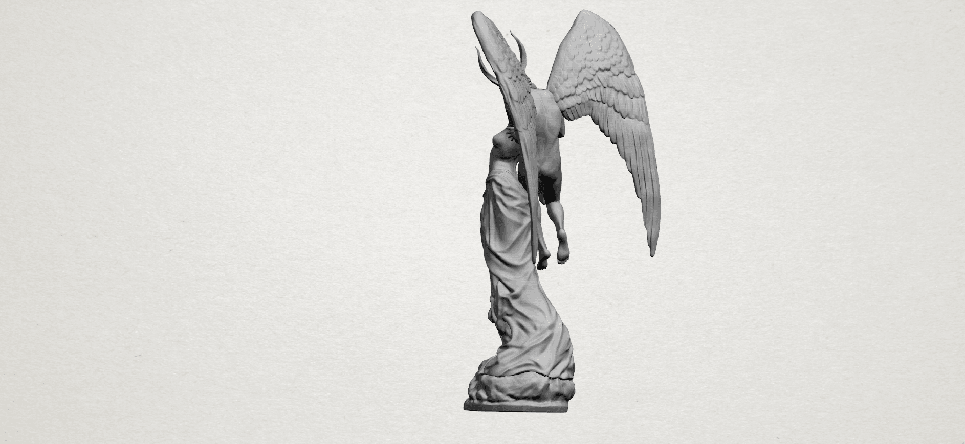 Angel and devil - A07.png Download free 3DS file Angel and devil • 3D print template, GeorgesNikkei