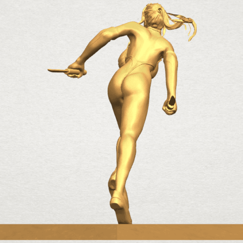 TDA0586 Sexy Girl 09 A04.png Download free STL file Sexy Girl 09 • 3D printing template, GeorgesNikkei