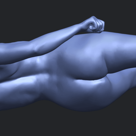 06_TDA0279_Naked_Girl_A06B09.png Download free STL file Naked Girl A06 • 3D printing template, GeorgesNikkei