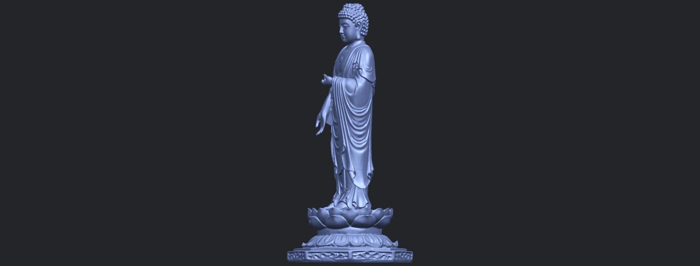 10_TDA0176_Gautama_Buddha_Standing_iiiB06.png Download free STL file Gautama Buddha Standing 03 • 3D printing design, GeorgesNikkei