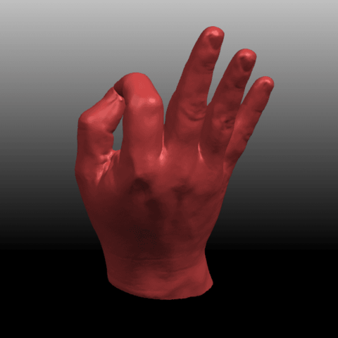 06.png Download free STL file Voronoi Hand • Object to 3D print, GeorgesNikkei