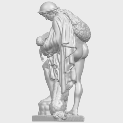 20_TDA0221_Father_and_Son_(iii)_88mmA05.png Download free STL file Father and Son 3 • 3D print model, GeorgesNikkei