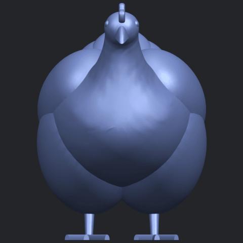 17_TDA0484_HenB01.png Télécharger fichier STL gratuit Poule • Design pour imprimante 3D, GeorgesNikkei