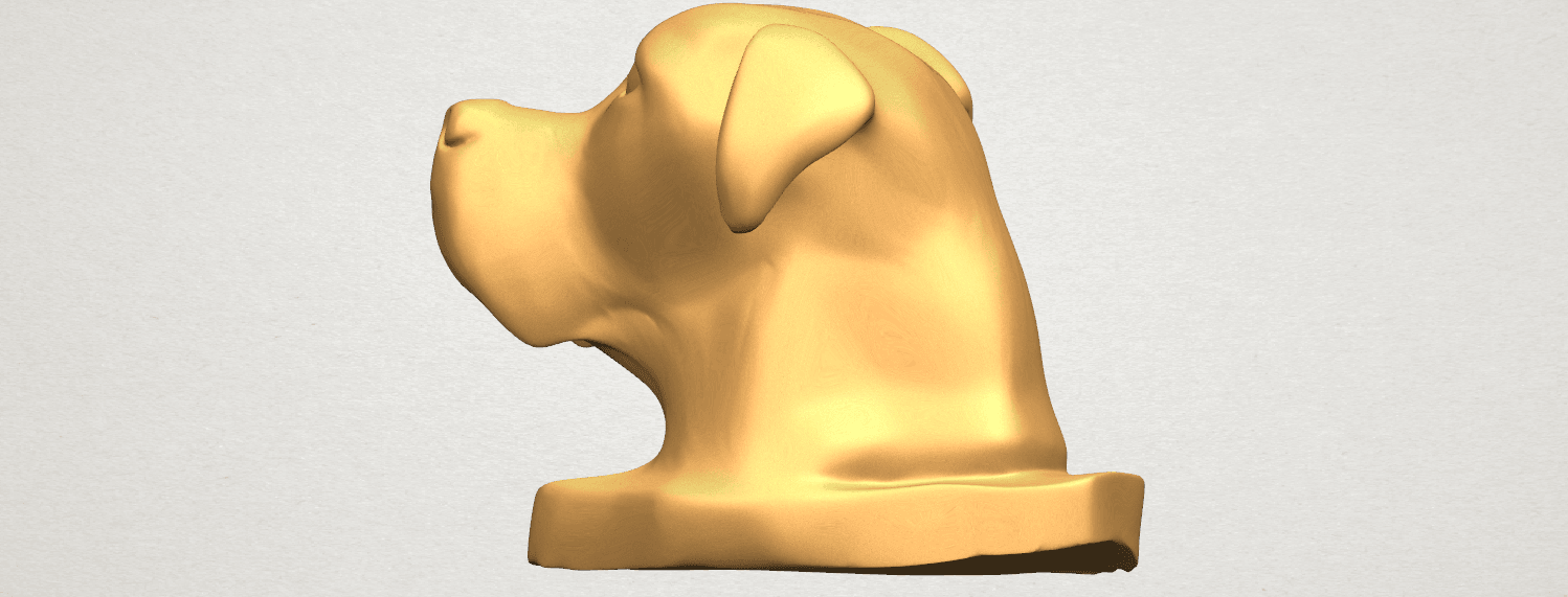 TDA0535 Dog Head A06.png Download free STL file Dog Head • Model to 3D print, GeorgesNikkei