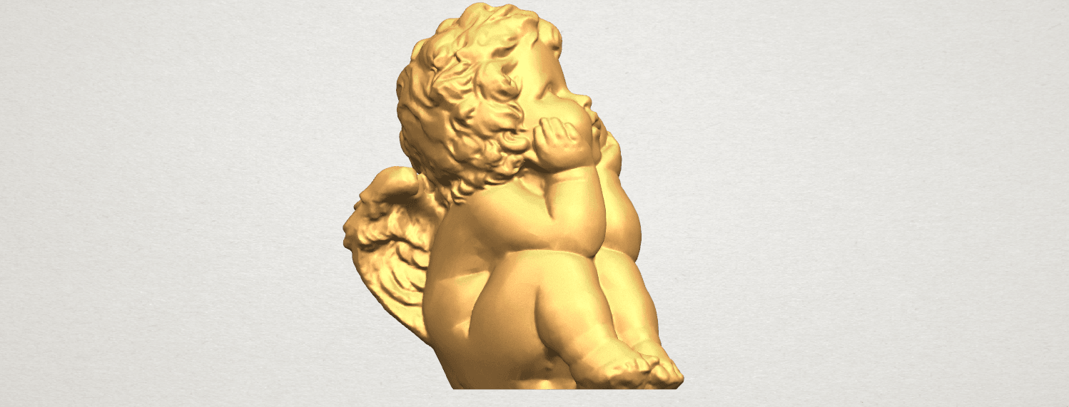 TDA0481 Angel Baby 04 A06.png Download free STL file Angel Baby 04 • 3D printable template, GeorgesNikkei