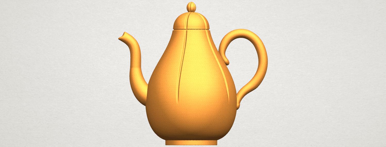 TDA0323 Tea Pot (ii) A06.png Download free STL file Tea Pot 02 • 3D printer template, GeorgesNikkei