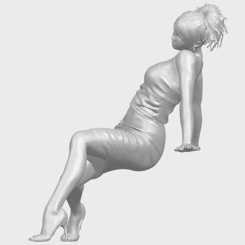 15_TDA0662_Naked_Girl_G10A03.png Download free STL file Naked Girl G10 • 3D printable template, GeorgesNikkei