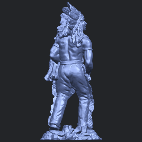 13_TDA0240_Red_IndianB07.png Download free STL file Red Indian • 3D print template, GeorgesNikkei