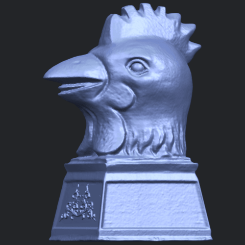 18_TDA0517_Chinese_Horoscope_of_Rooster_02B03.png Download free STL file Chinese Horoscope of Rooster 02 • 3D printable object, GeorgesNikkei
