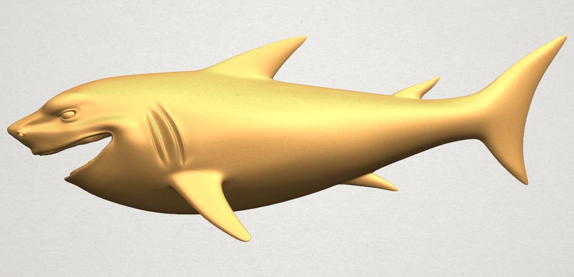 TDA0486 Shark A01 ex800.png Download free STL file Shark • 3D print design, GeorgesNikkei