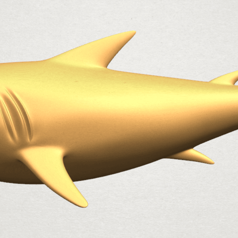 Download free STL Shark, GeorgesNikkei