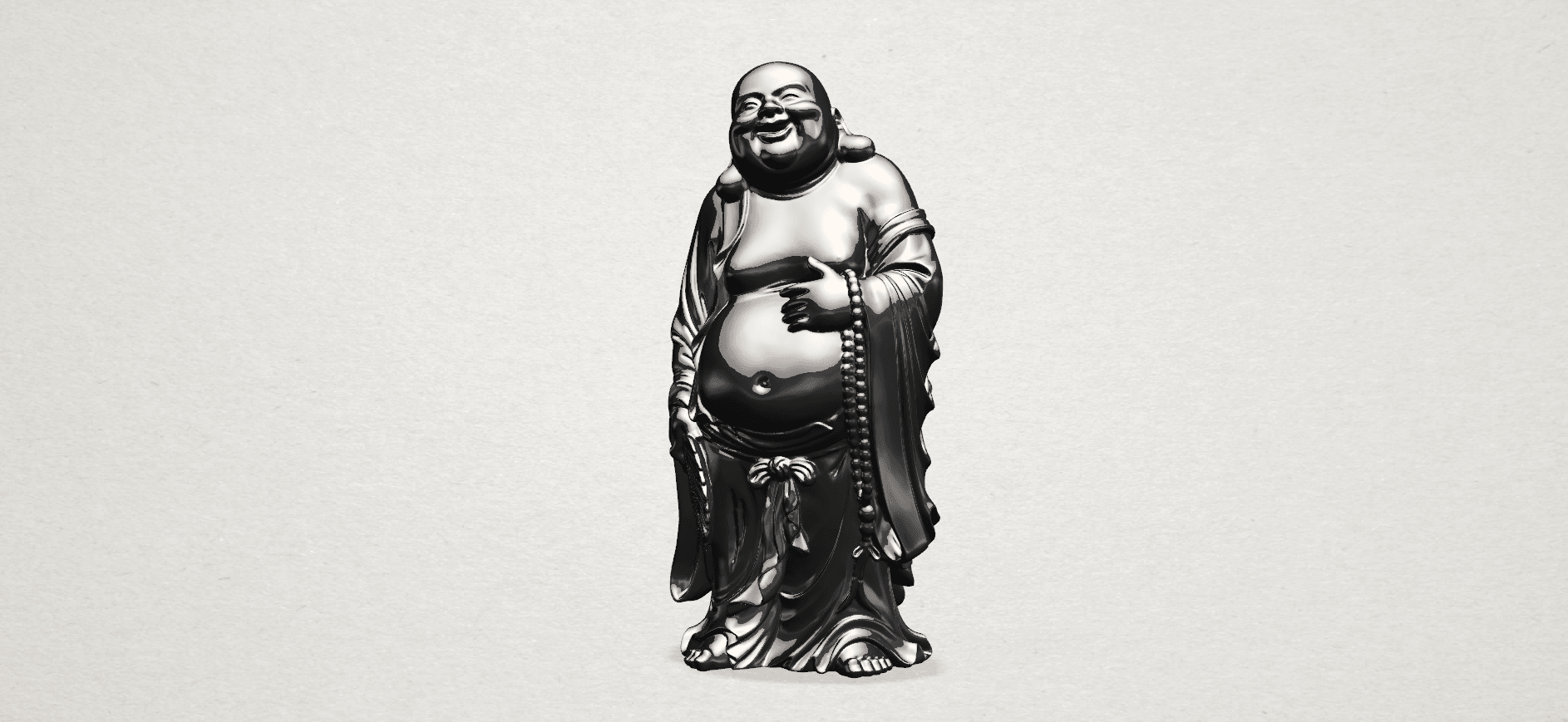 TDA0070 Metteyya Buddha 01 - 88mm - B01.png Download free STL file Metteyya Buddha 01 • 3D print object, GeorgesNikkei