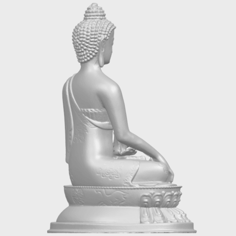 15_TDA0173_Thai_Buddha_(iii)_88mmA08.png Download free STL file Thai Buddha 03 • 3D printing object, GeorgesNikkei