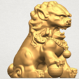 TDA0500 Chinese Lion A06.png Download free STL file Chinese Lion • 3D printing object, GeorgesNikkei