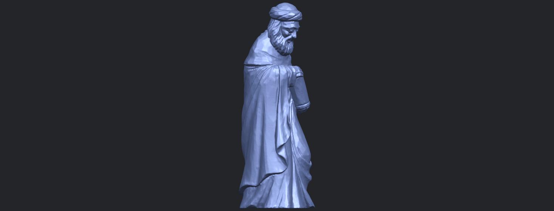 26_Sculpture_of_Arabian_88mm-B09.png Download free STL file Sculpture of Arabian • 3D print template, GeorgesNikkei