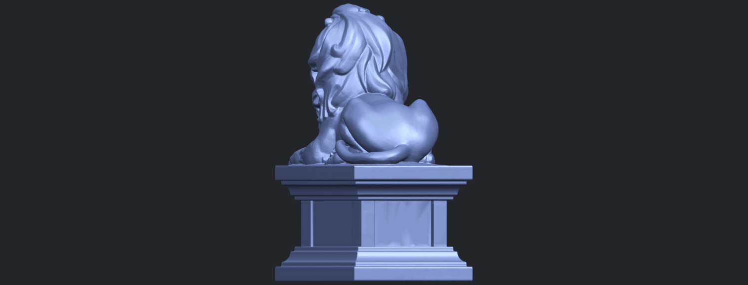 01_TDA0499_Lion_04B06.png Download free STL file Lion 04 • Template to 3D print, GeorgesNikkei