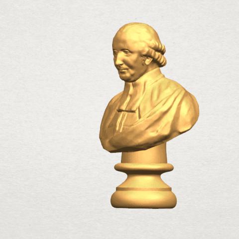 TDA0620 Sculpture of a head of man 02 A02.png Télécharger fichier STL gratuit Sculpture d'une tête d'homme 02 • Design à imprimer en 3D, GeorgesNikkei
