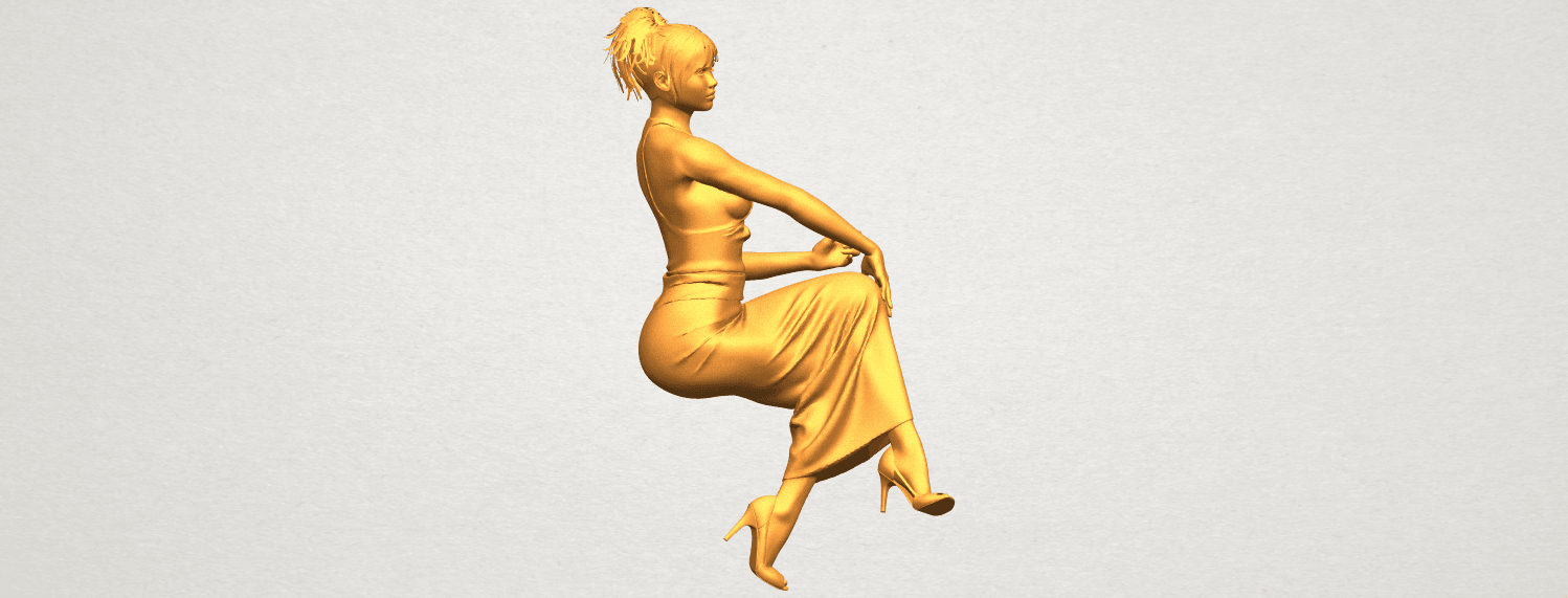 A02.png Download free STL file Naked Girl H09 • 3D printing model, GeorgesNikkei