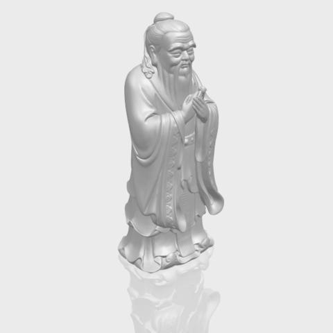 13_TDA0341_ConfuciusA00-1.png Download free STL file Confucius • 3D printable model, GeorgesNikkei