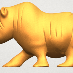 Free 3d print files Rhinoceros 02, GeorgesNikkei