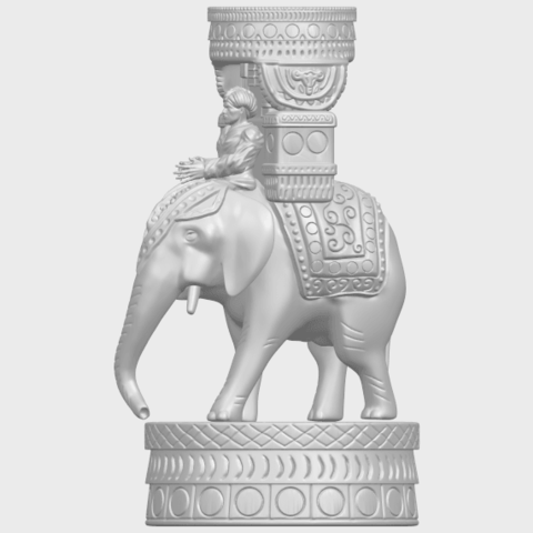 TDA0731_Elephant_08A03.png Download free STL file Elephant 08 • 3D printable template, GeorgesNikkei