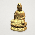 Bodhisattva Buddha - B05.png Download free STL file Avalokitesvara Bodhisattva 01 • 3D print object, GeorgesNikkei