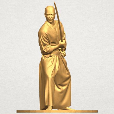 TDA0544 Japanese Warrior A06.png Download free STL file Japanese Warrior • 3D printer model, GeorgesNikkei