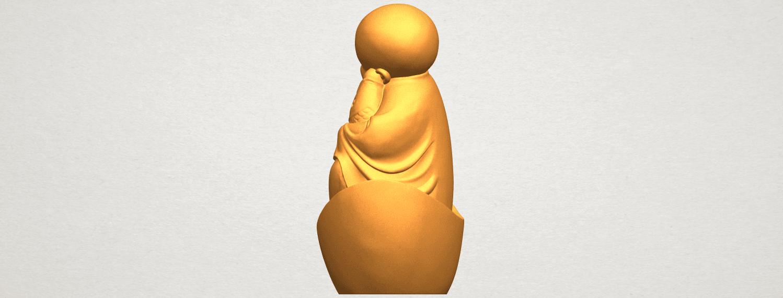 A04.png Télécharger fichier STL gratuit Petit Moine 04 • Modèle imprimable en 3D, GeorgesNikkei