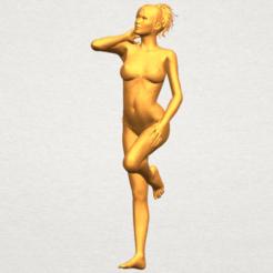 Plan 3D Fille nue C06, Miketon