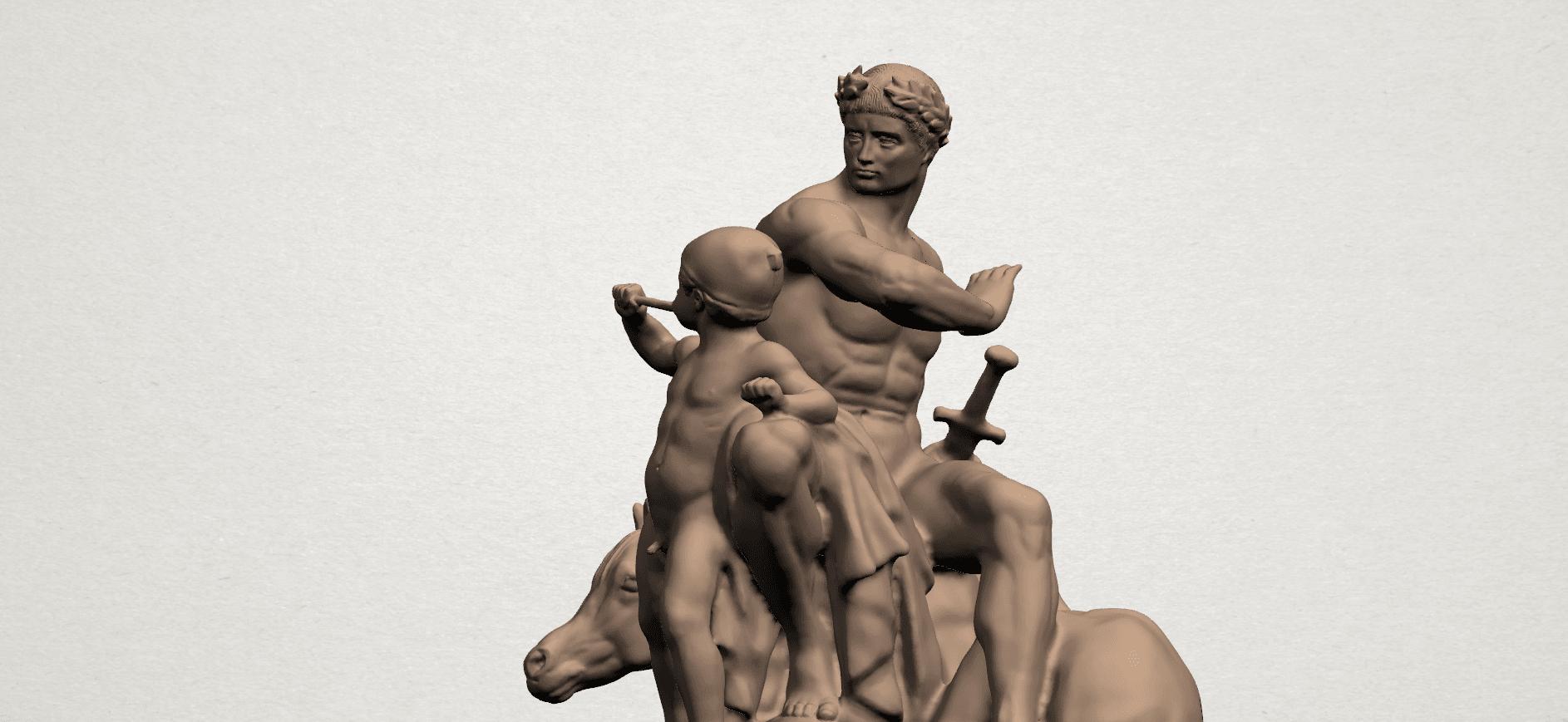 Father and Son (ii) A08.png Télécharger fichier STL gratuit Père et Fils 02 • Plan à imprimer en 3D, GeorgesNikkei