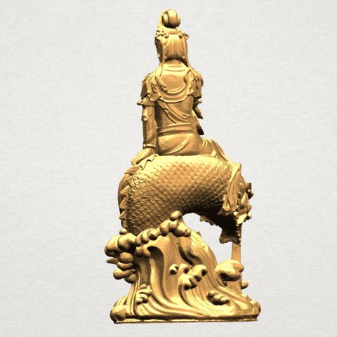 Avalokitesvara Bodhisattva (with fish) 88mm - A04.png Télécharger fichier 3DS gratuit Avalokitesvara Bodhisattva (avec poisson) 01 • Modèle imprimable en 3D, GeorgesNikkei
