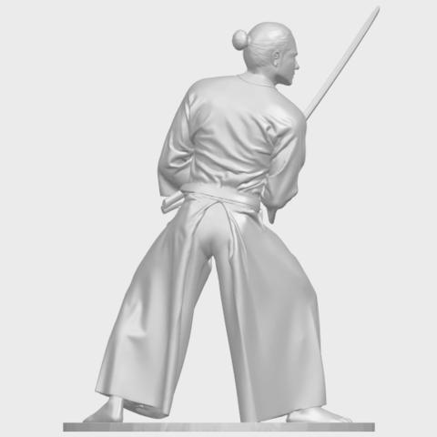 05_TDA0544_Japanese_WarriorA07.png Download free STL file Japanese Warrior • 3D printer model, GeorgesNikkei