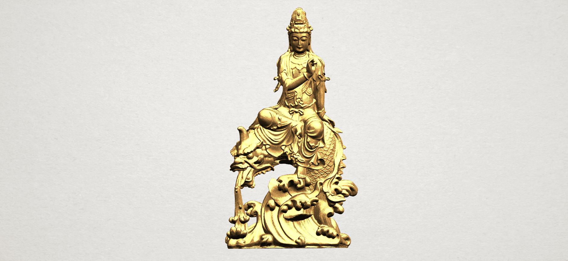 Avalokitesvara Bodhisattva (with fish) 88mm - A01.png Télécharger fichier 3DS gratuit Avalokitesvara Bodhisattva (avec poisson) 01 • Modèle imprimable en 3D, GeorgesNikkei