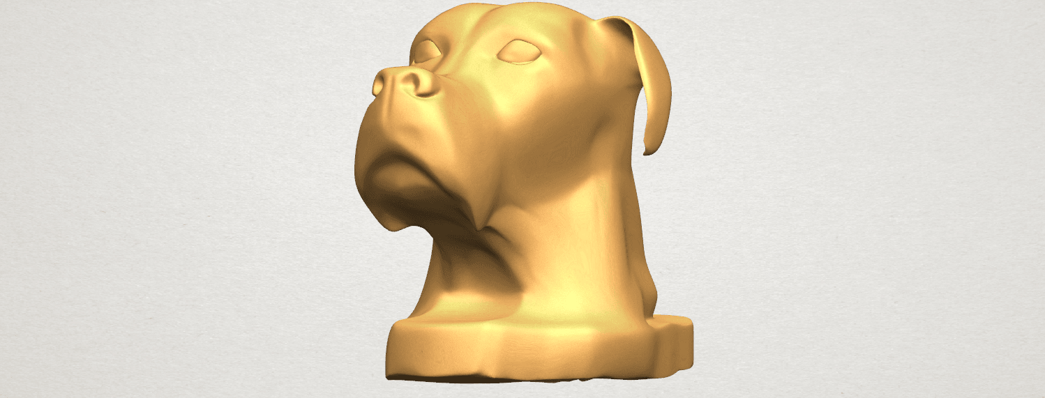 TDA0535 Dog Head A04.png Download free STL file Dog Head • Model to 3D print, GeorgesNikkei