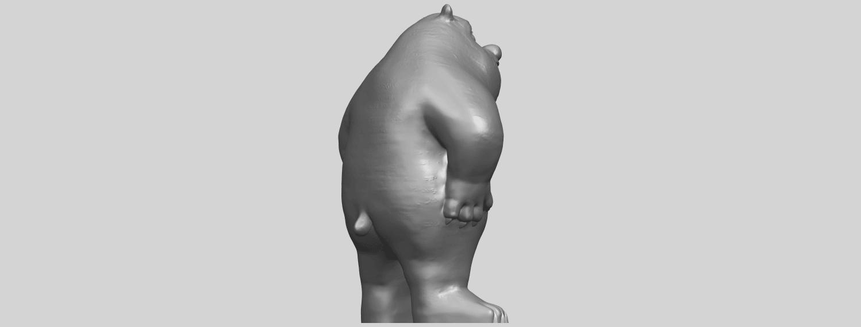 14_TDA0561_Bear_SeniorA08.png Télécharger fichier STL gratuit Bear Senior • Plan imprimable en 3D, GeorgesNikkei