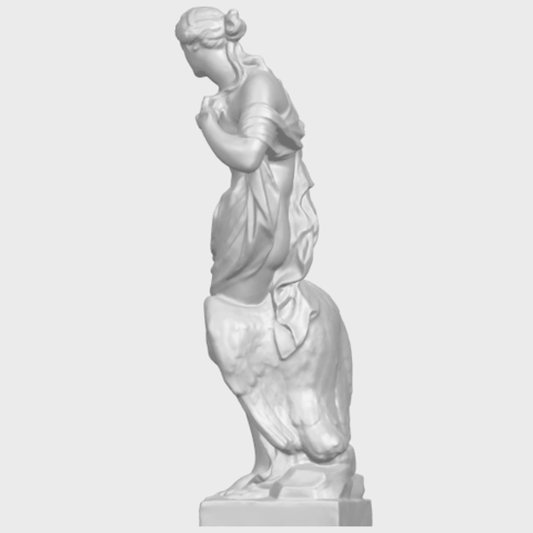 25_TDA0173_Naked_Girl_with_Goose_88mmA04.png Download free STL file Naked Girl with Goose • 3D print template, GeorgesNikkei