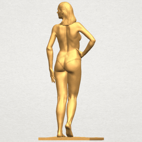 TDA0465 Naked Girl 19 A05.png Download free STL file Naked Girl 19 • 3D printer template, GeorgesNikkei