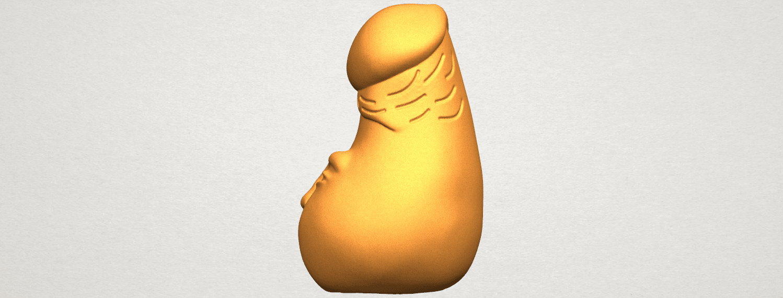 TDA0316 Dick (i) cute A03.png Download free STL file  Dick 01 cute • 3D print design, GeorgesNikkei