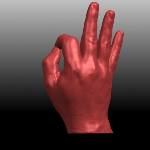 04.png Download free STL file Voronoi Hand • Object to 3D print, GeorgesNikkei