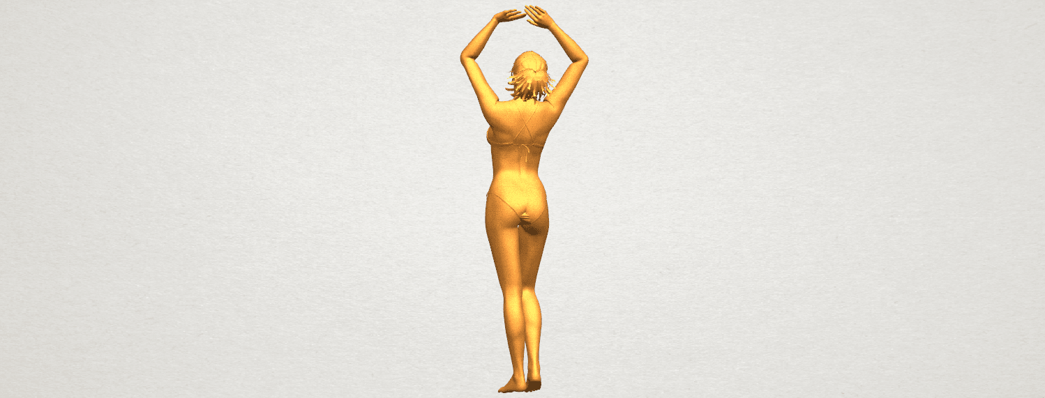 TDA0627 Naked Girl C03 A06.png Download free STL file Naked Girl C03 • 3D printer template, GeorgesNikkei